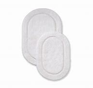 2 piece Bath Rug Set- Oval