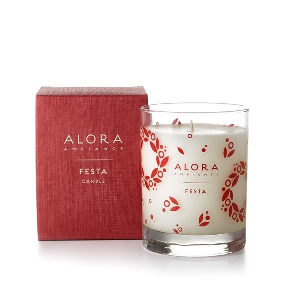 Alora Ambiance Fragrance Candle-Festa