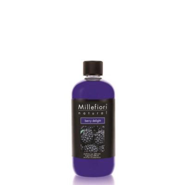 Millefiori Natural Diffuser Refill - Berry Delight