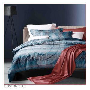 Ixora Deluxe Linen Collection- Boston Blue