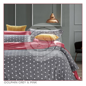 Ixora Deluxe Linen Collection- Dolphin Grey