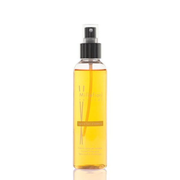 Millefiori Natural Scented Home Spray - Legni E Fiori D'arancio