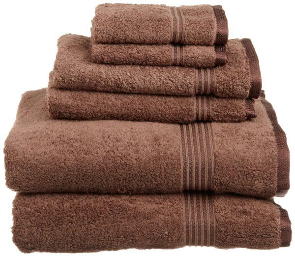 6Pc 100% Egyptian Cotton Towel Set