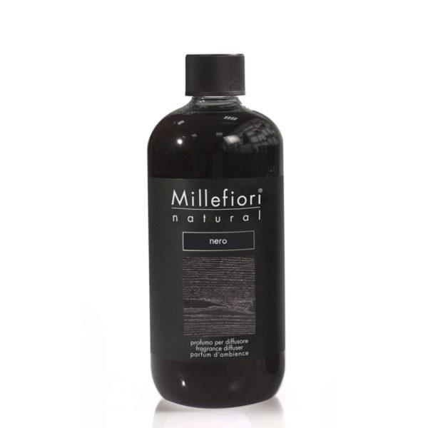 Millefiori Natural Diffuser Refill - Nero