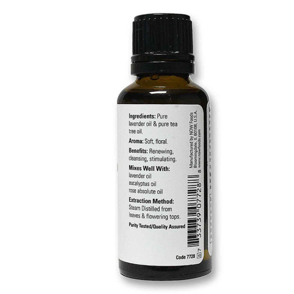 Lavender and Tea Tree Essential Oil