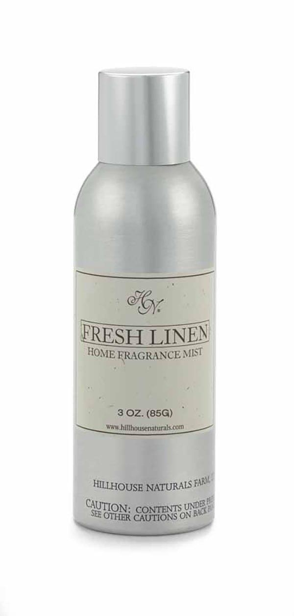 Hillhouse Naturals Fresh Linen Home Fragrance Mist