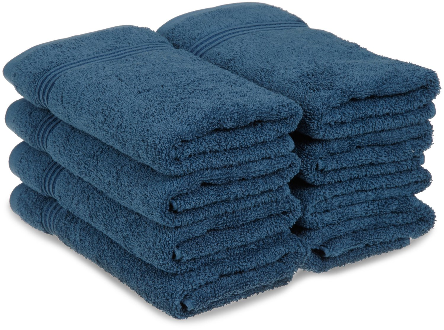 Egyptian Cotton 8PC Hand Towels