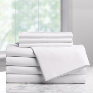 Ixora Deluxe Linen Collection 300TC White