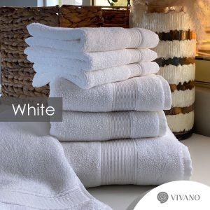 7pc 100% Turkish Cotton Towel Set – 800gsm